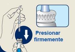 insertar boquilla irrigador dental