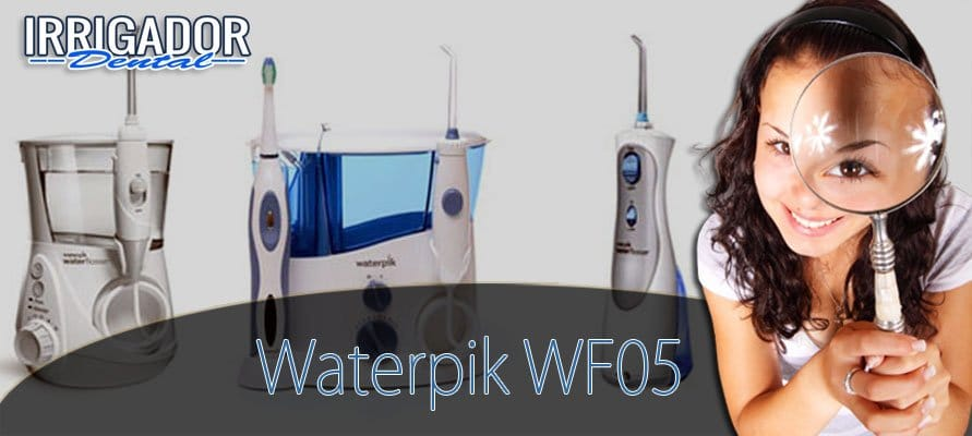 waterpik wf-05eu irrigador dental blanqueador