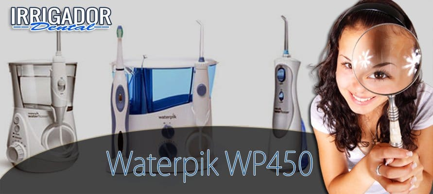 Waterpik WP-450 Cordless Plus Inalámbrico